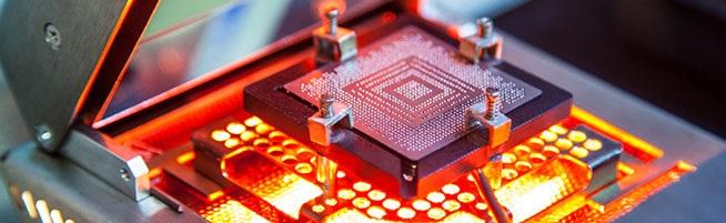 Ремонт ноутбуков. Ремонт BGA чипа в ноутбуке HP в Минске