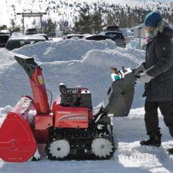 Ремонт снегоуборочной техники