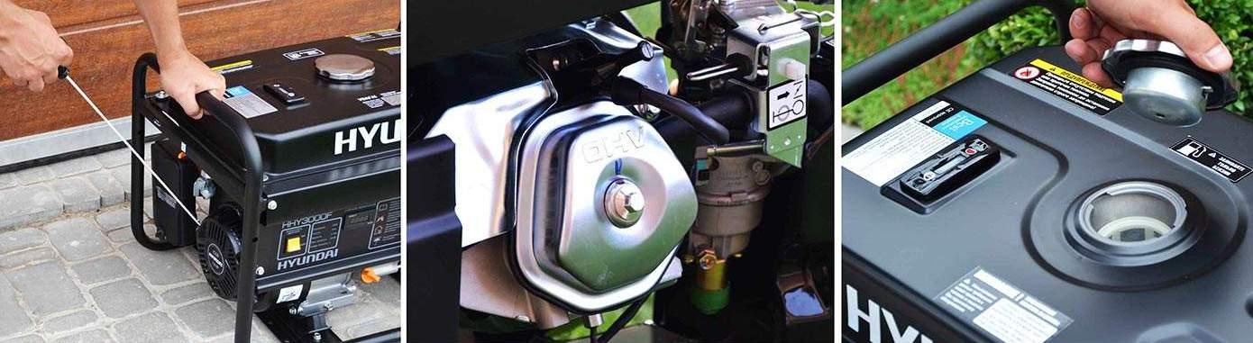 Бензогенераторы Hyundai - ремонт и запасные части