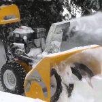 Ремонт снегоуборщиков